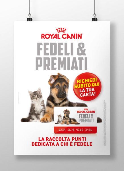 Locandina Fedeli & Premiati - Royal Canin