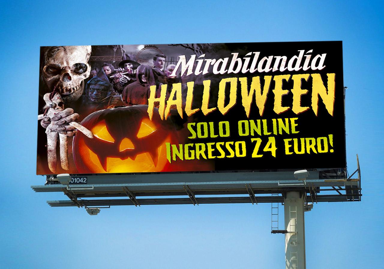 Poster Halloween - Mirabilandia