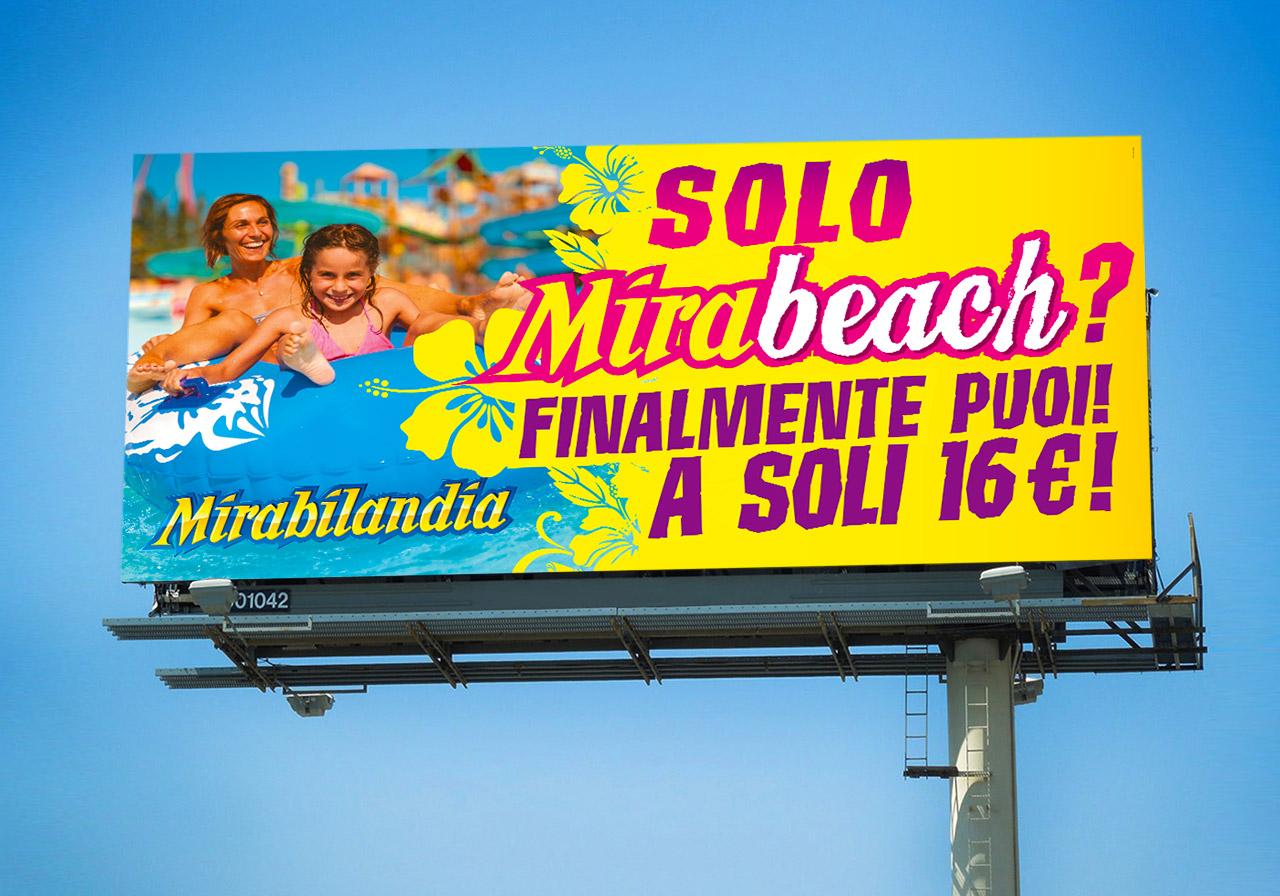 Poster Mirabeach - Mirabilandia