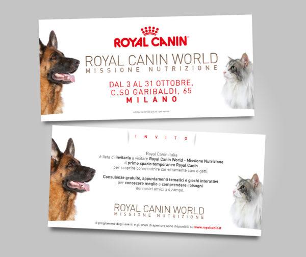 Invito - Royal Canin World Missione Nutrizione