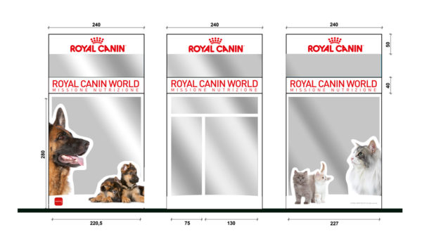 Vetrofania Royal Canin World