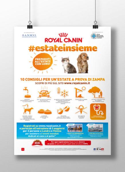 Royal Canin - Estateinsieme locandina promozionale