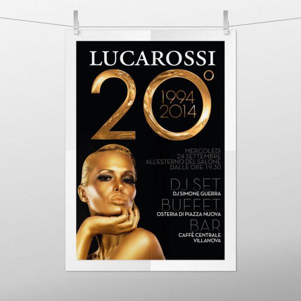 Creazione poster per ventesimo anniversario
