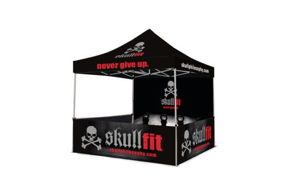 Studio e realizzazione stand - SKULLFIT