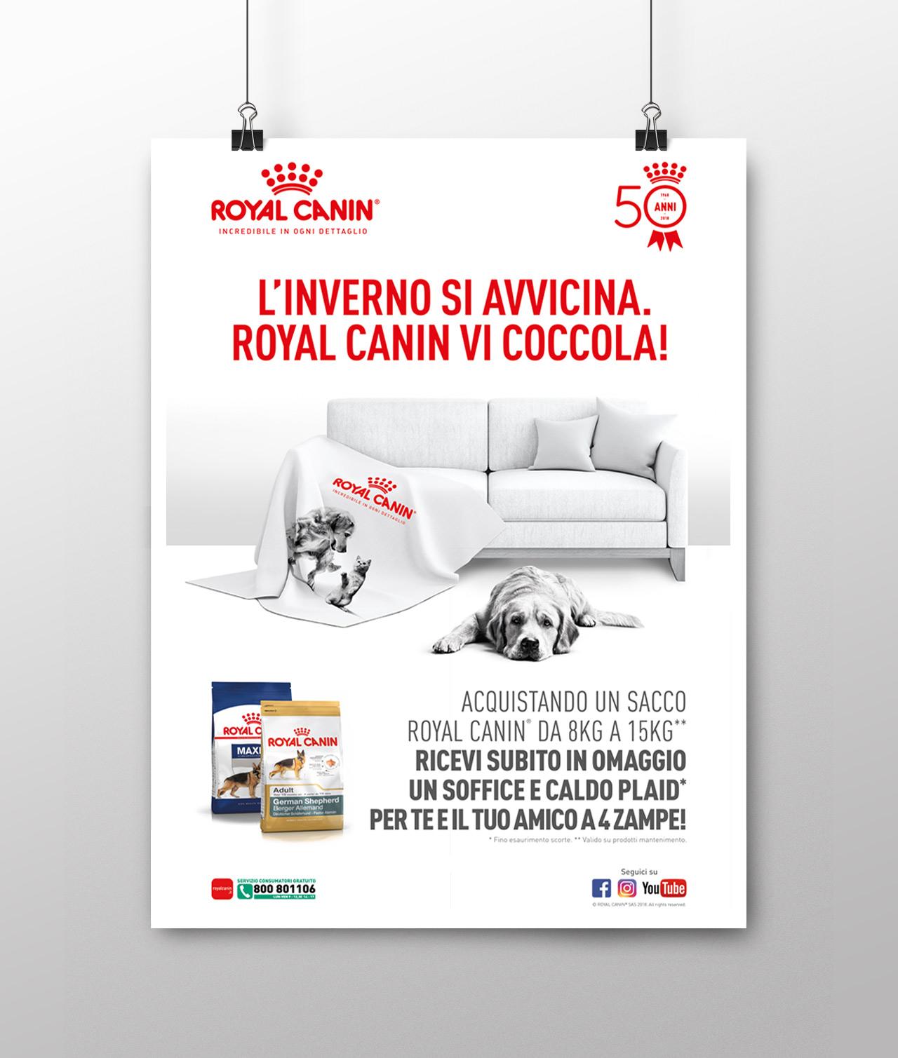Royal Canin - Campagna ADV