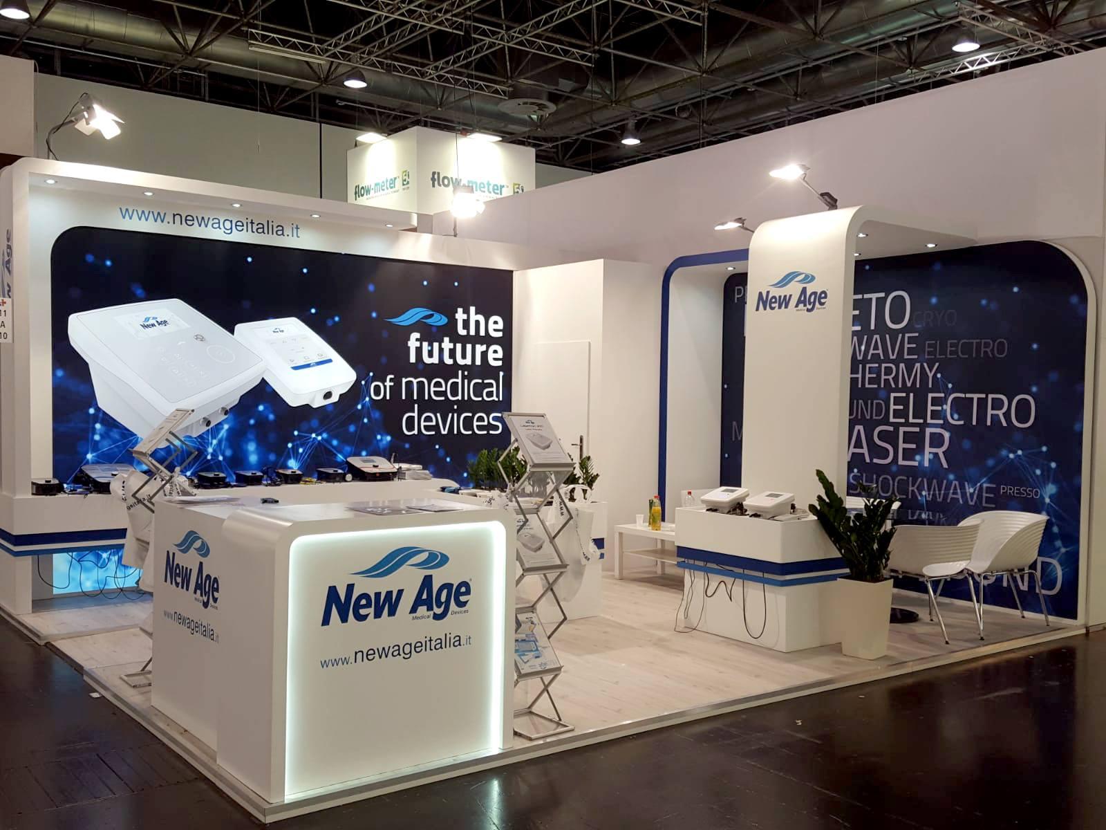 New Age - Stand 2019 MEDICA Düsseldorf (Germania)